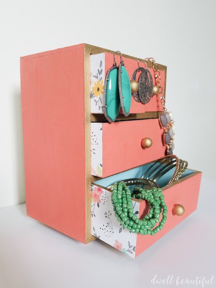 Fat Paint Company Diy Jewelry Box Diy Jewelry Box Box And Paint