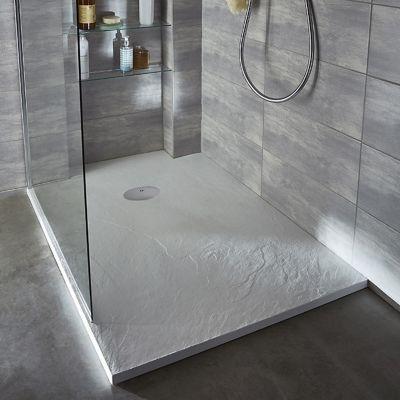 cooke and lewis avis salle de bain receveur de douche poser recoupable r sine blanc cooke