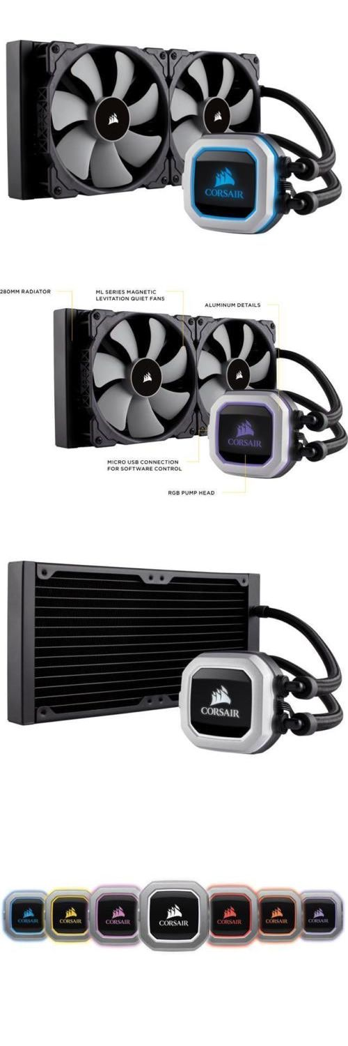 Water Cooling 131503: Corsair Hydro Series, H115i Pro Rgb, 280Mm