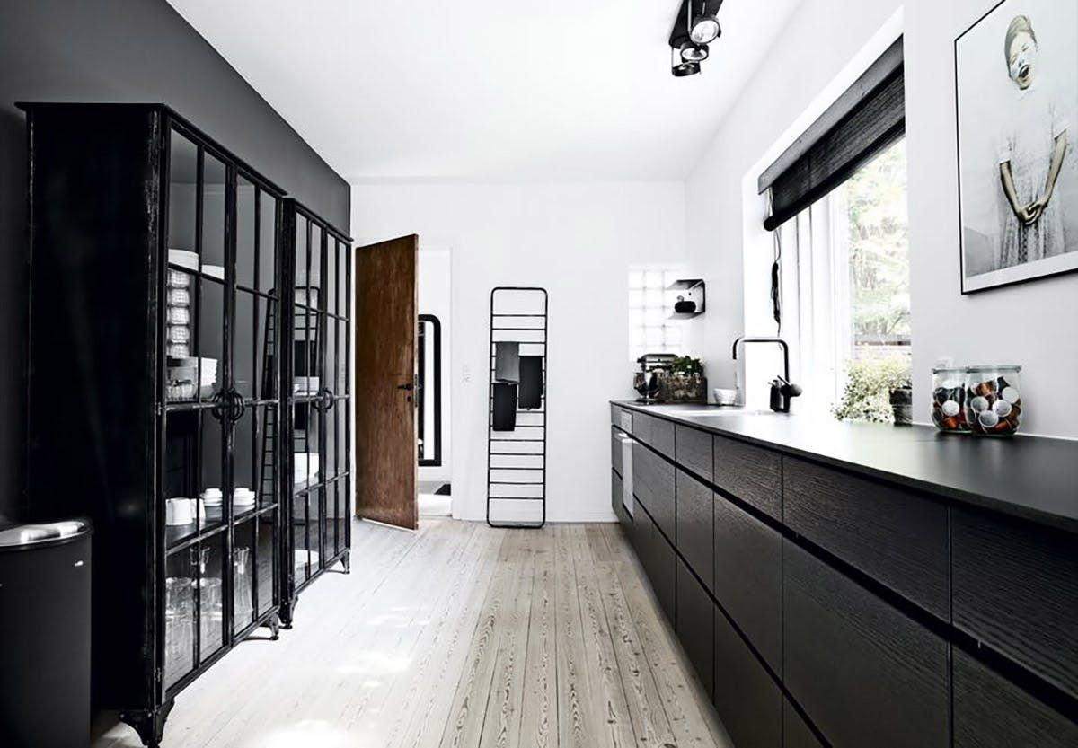 Window above kitchen sink  not into open shelving youull love this new kitchen trend  open