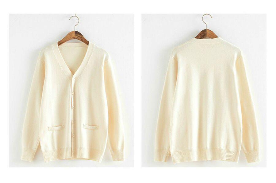 My Hero Academia Himiko Toga Costume Cardigan Sweater Sailor JK Uniform Cosplay