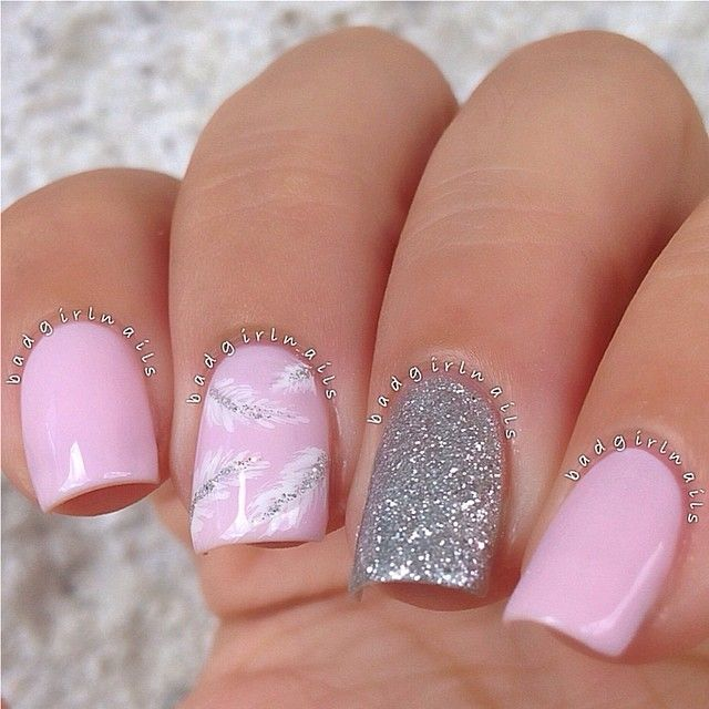 Instagram Post by Sonia (@badgirlnails) | Feather nail art, Nail art ...