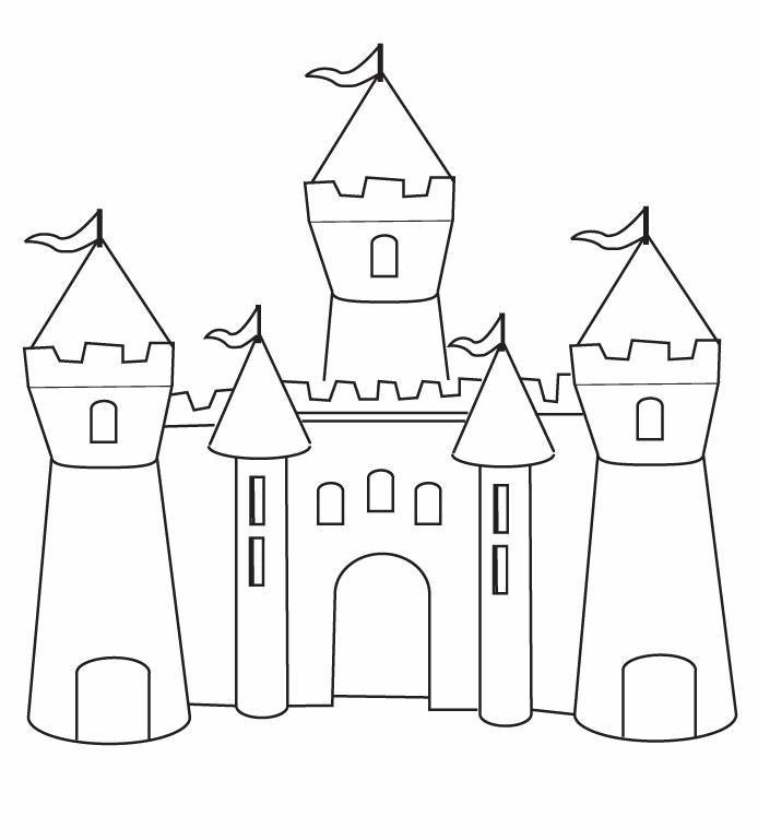 castillo de la princesa sofia para colorear - Buscar con Google ...