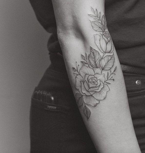 63 Fabulous Feminine Tattoo Design Ideen – Tattoosideen #tattoodesigns
