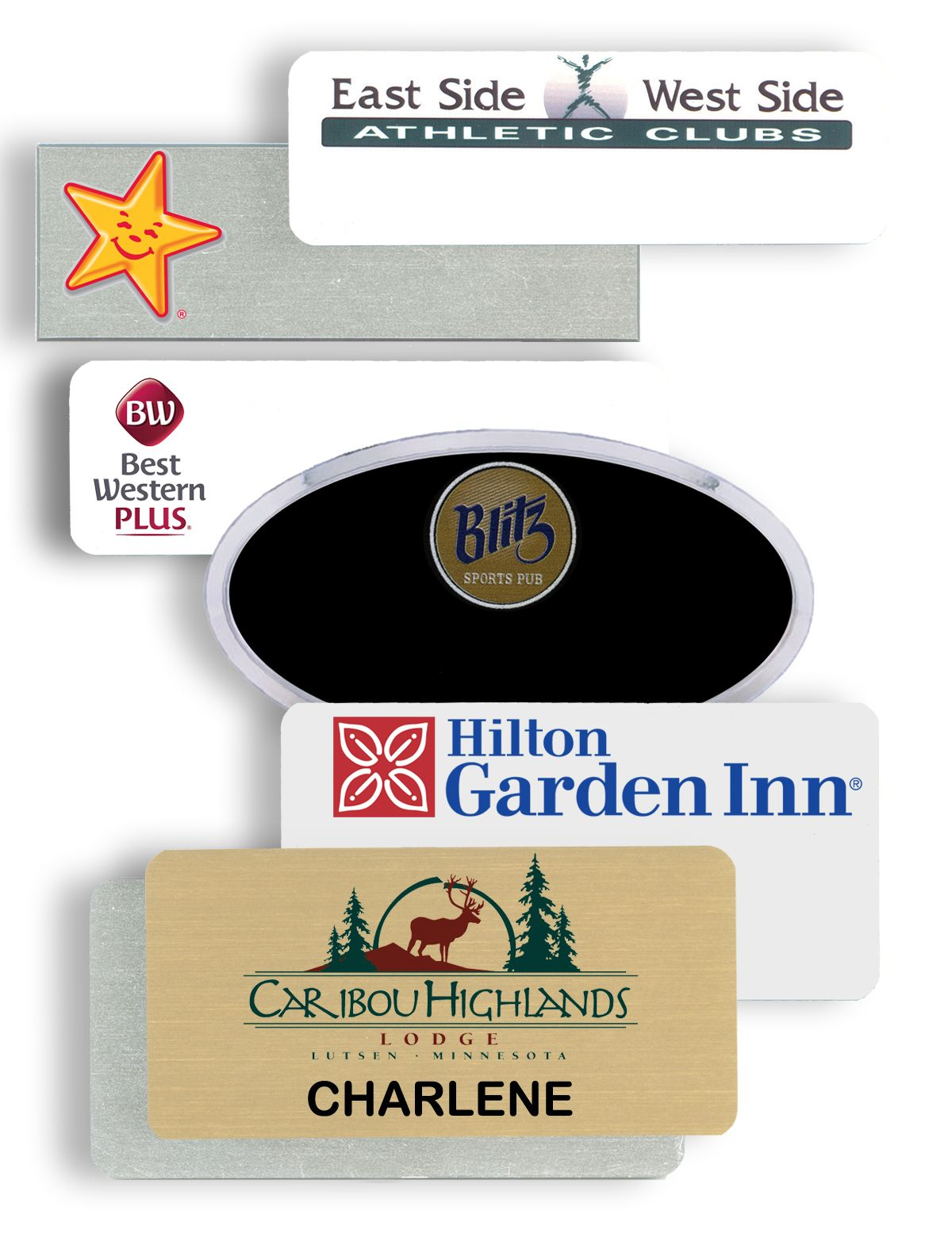 plastic name tags and plastic name badges contribute to corporate