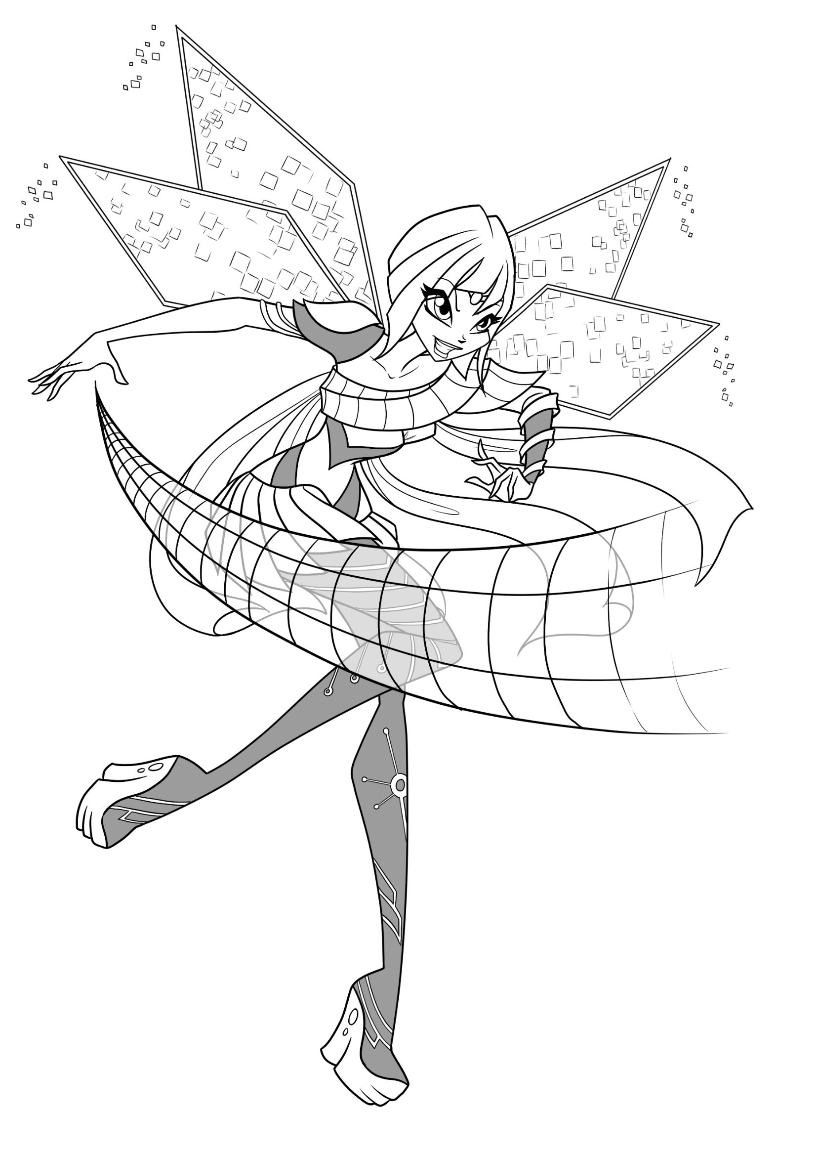 Winx Club Bloomix Coloring Pages Cartoon Coloring Pages Coloring Pages Winx Club
