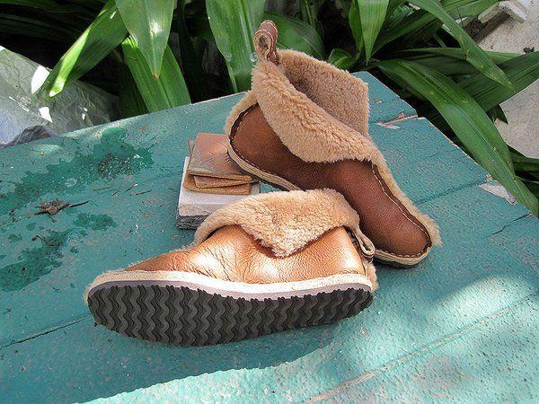 Картинки по запросу сшить обувь из старой дубленки