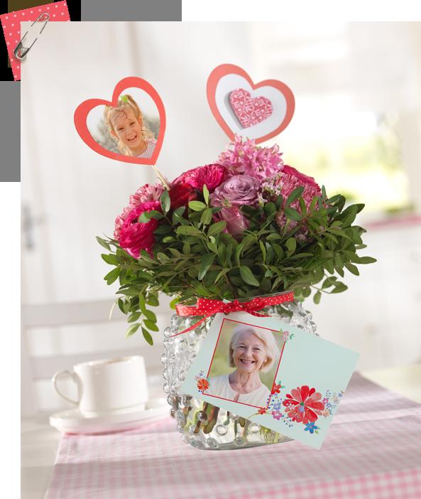 ein geschenk f r oma geschenke flowers diy und ideas. Black Bedroom Furniture Sets. Home Design Ideas