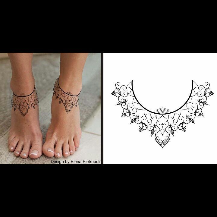 Chic Tattoo Design Foot Ankle Elenapietropoli Blacklily Design #style #shopping #styles #outfit #pretty #girl #girls #beauty #beautiful #me #cute #stylish #photooftheday #swag #dress #shoes #diy #design #fashion #Tattoo