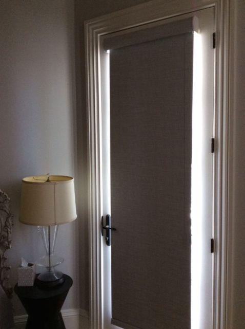 roller shades designer roller shade french door. Black Bedroom Furniture Sets. Home Design Ideas