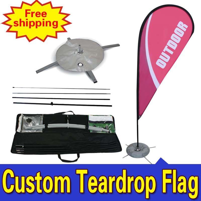 Aliexpress Com Buy 88cm 310cm Custom Flag Double Side Printing Display Flags Teardrop Banner Flag With Cross Water Ba Custom Flags Teardrop Banner Flag Shop