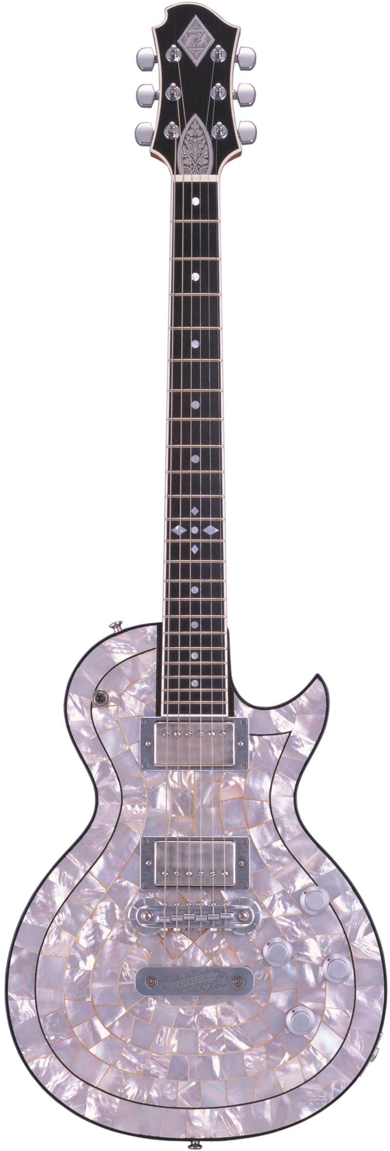 ZEMAITIS PF200-EDGE Pearl Front™ Guitar