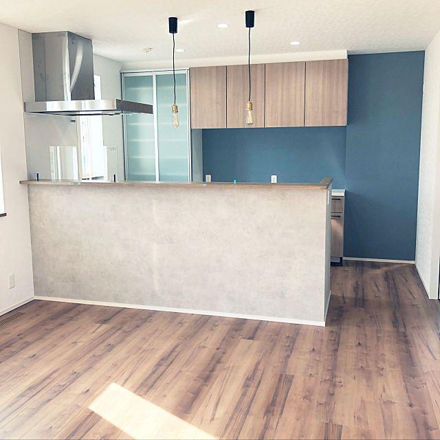 キッチン リクシルdフロア タカラスタンダード キッチン Ldk17畳 新築