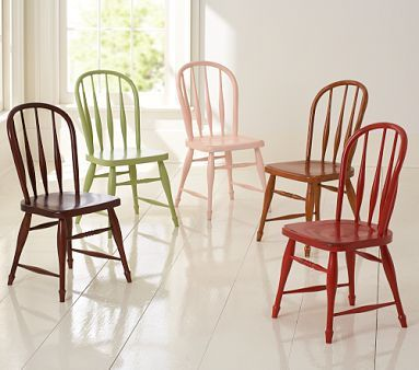 Different Colours Farmhouse Chairs Farmhouse Dining