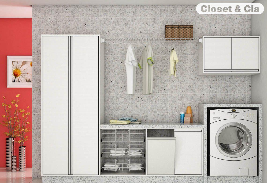 Armario San Jose Del Cabo ~ Lavanderia Ideal para as suas Necessidades lavanderias Pinterest Armários planejados