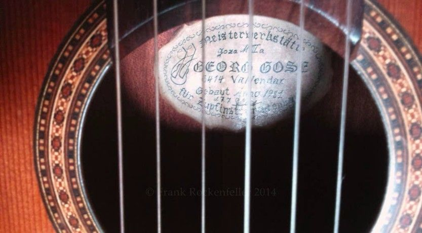 Mein Liebling :-) Nylonstring, handcrafted 1981, Hölzer ca 75 Jahre alt Viel…