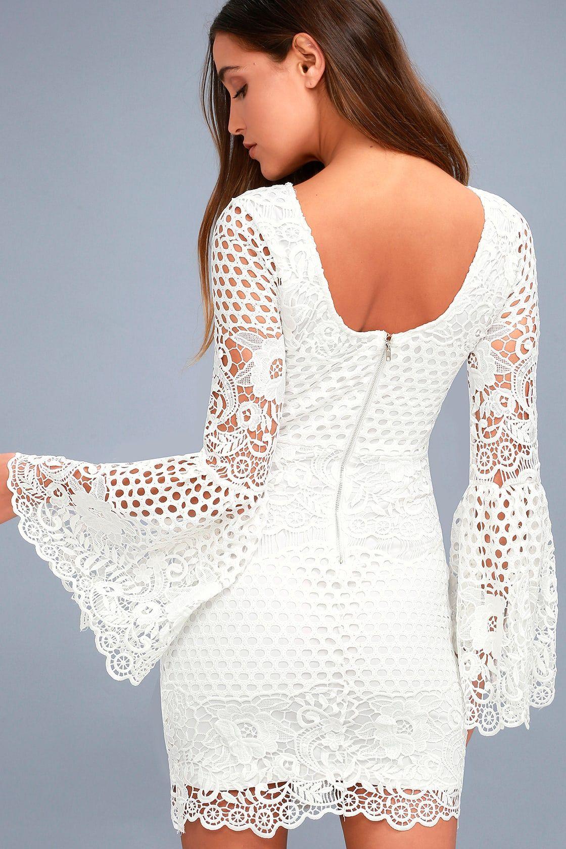 Angelisa White Lace Long Sleeve Dress White Lace Long Sleeve Dress Long Sleeve Lace Dress Lace White Dress [ 1680 x 1120 Pixel ]