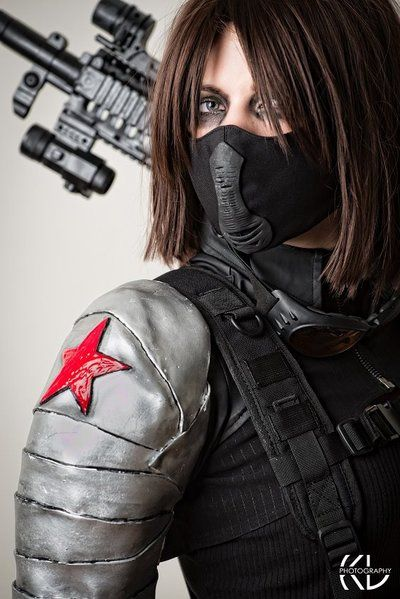 Marvel's The Winter Solider by Toxic Girl #Cosplay