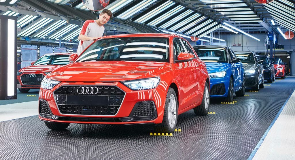 Audi Starts Production Of New A1 At Seats Martorell Plant Audi