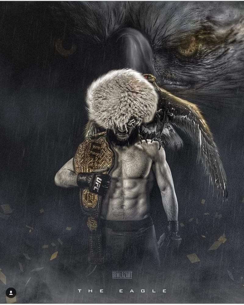 Khabib Nurmagomedov Ufc Art Khabibnurmagomedov Fight Mma Champion Ufc Boxing Ufc Fighters Ufc