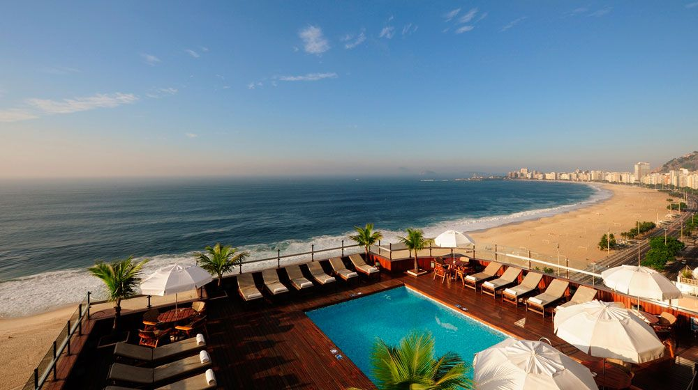 Porto Bay Rio Internacional Hotel, Brazil. Rated 9.0
