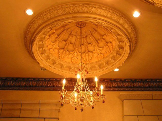 Plaster Ceiling Dome Paris With