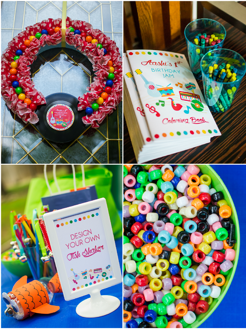 Music Birthday Jam Party Printables Supplies Decorations Party