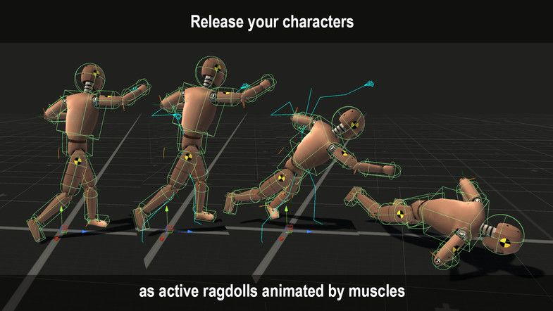 PuppetMaster - Asset Store - Advanced active ragdoll physics