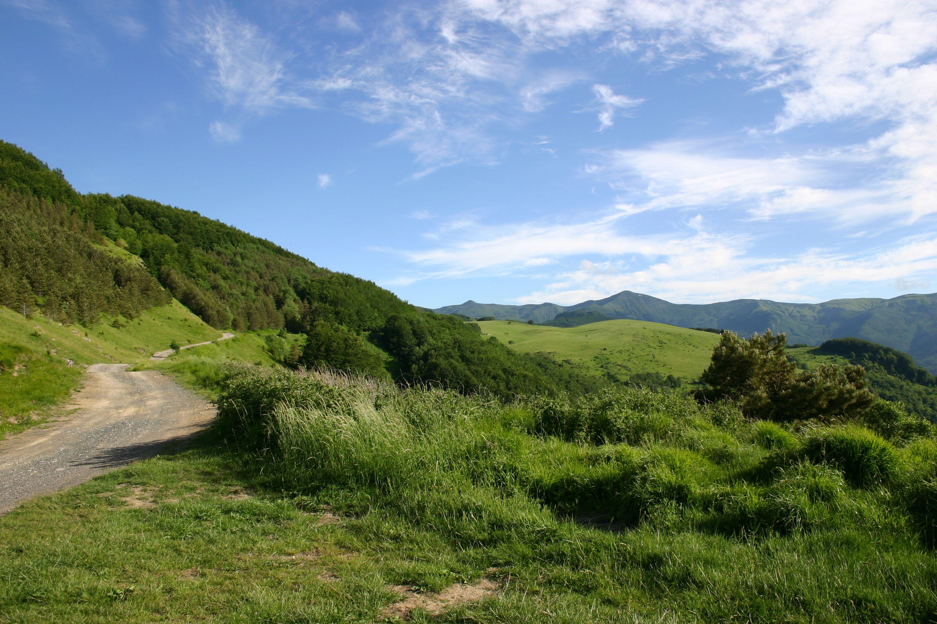 La strada che porta al Lago Pratignano