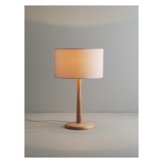 Pip Ash Wooden Table Lamp Base