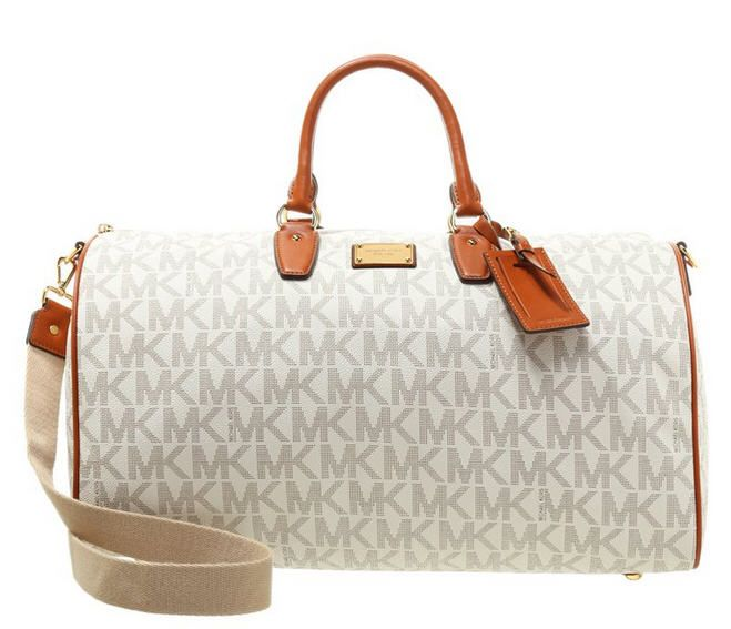 MICHAEL Michael Kors JET SET ITEM Sac week end vanilla