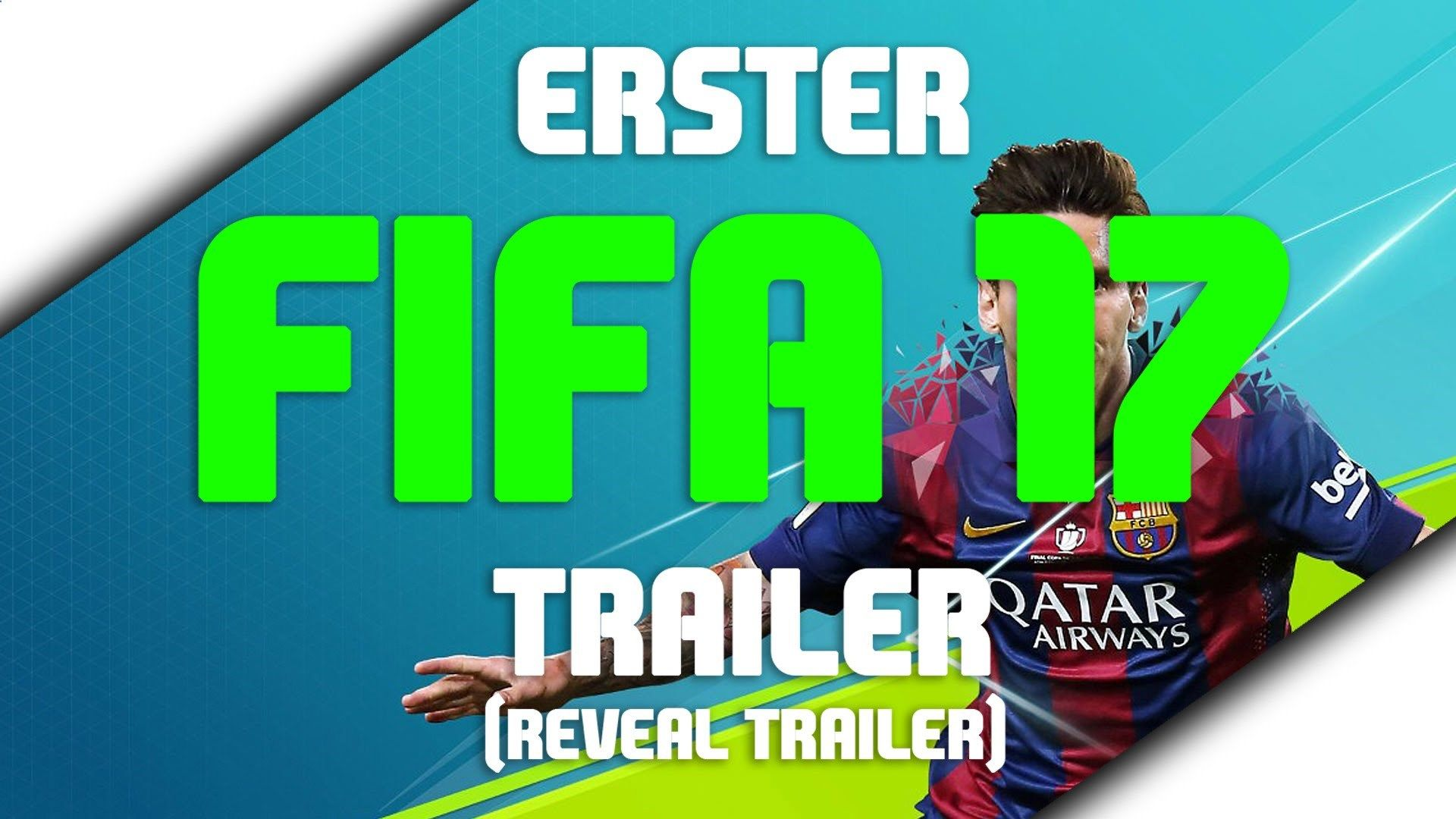 ERSTER FIFA 17 TRAILER - FIRST FIFA 17 Reveal Trailer Football has changed / Frostbite Engine - tickets.fifanz201... #FIFA17