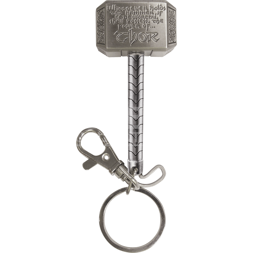 Avengers Thor Hammer Keychain With Images Thor Hammer Keychain