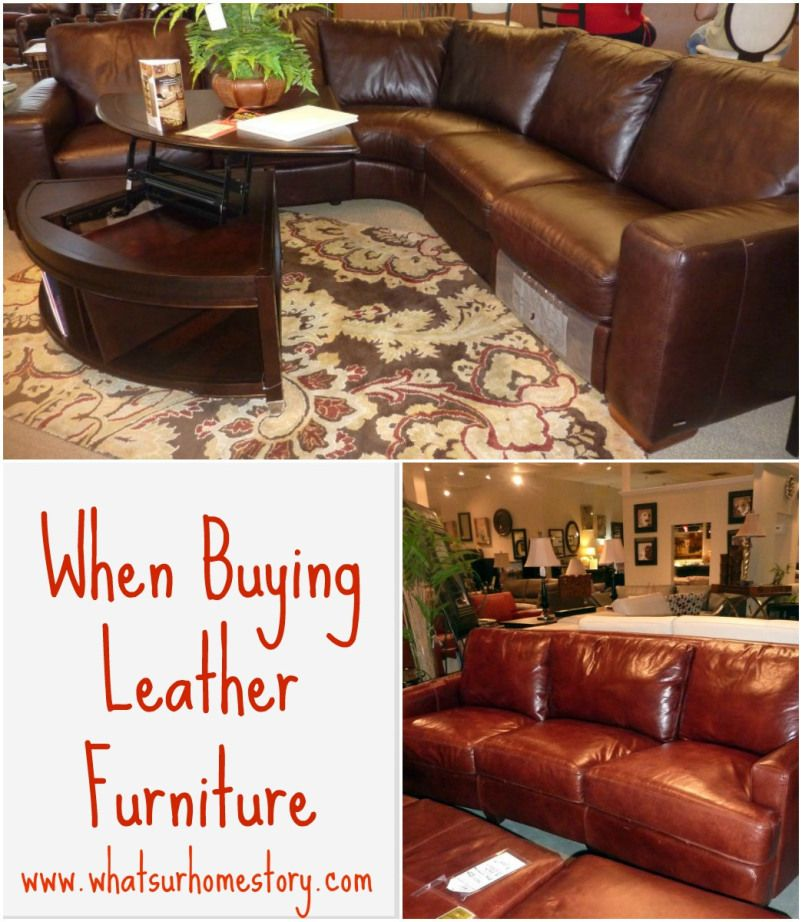 how to clean old leather furniture