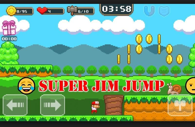 All About Facebook Messenger Super Jim Jump Game Online