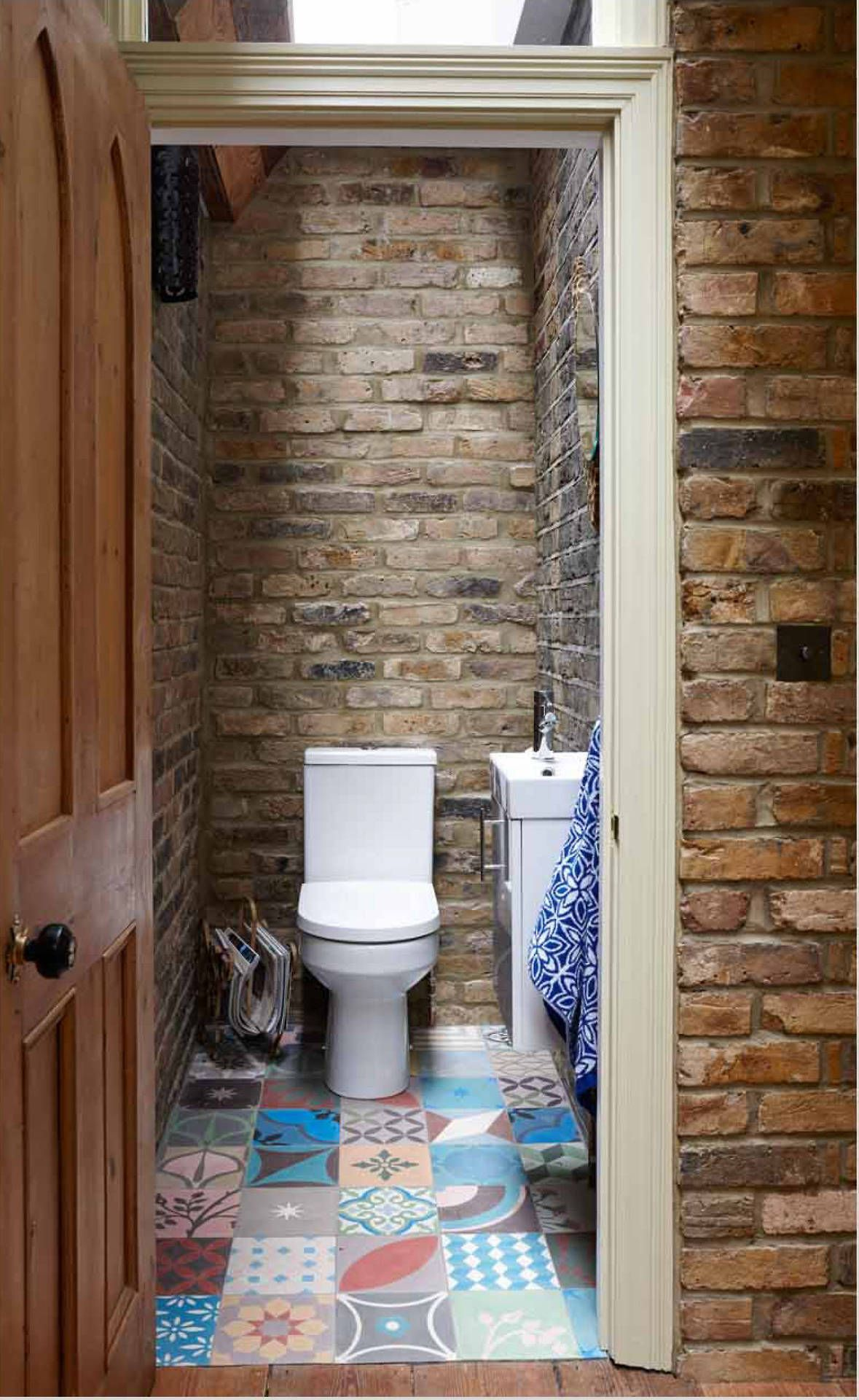 New Post On Inter1or World In 2020 Small Rustic Bathrooms Brick Bathroom Rustic Bathrooms