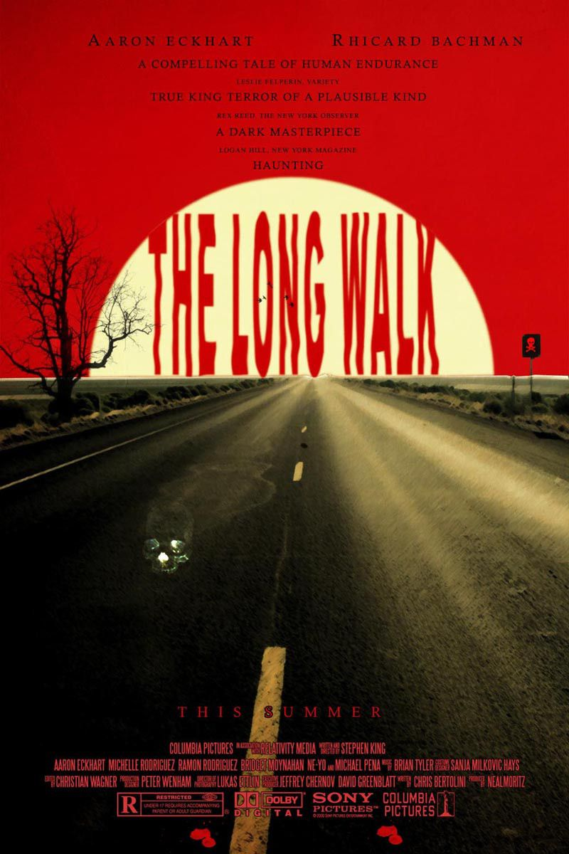 The long walk Stormy night, Columbia pictures, Stephen king