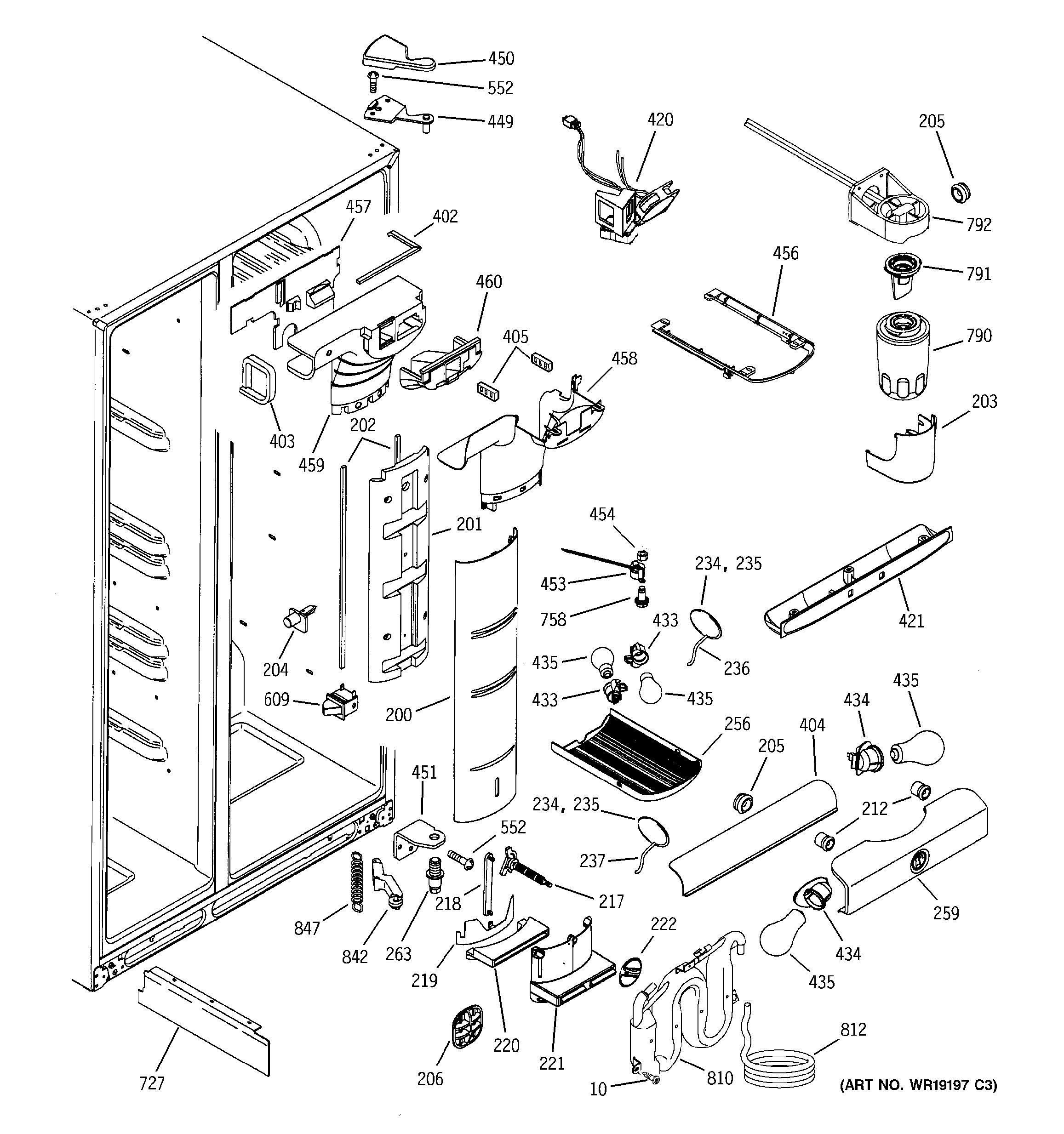 Kenmore Ice Maker Wiring Diagram