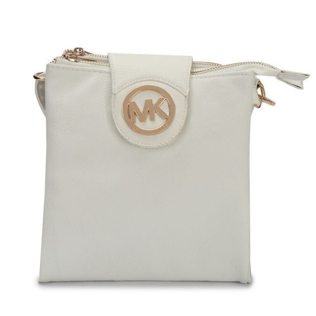 476202e74374 Michael Kors Fulton Pebbled Large White Crossbody Bags Outlet ...