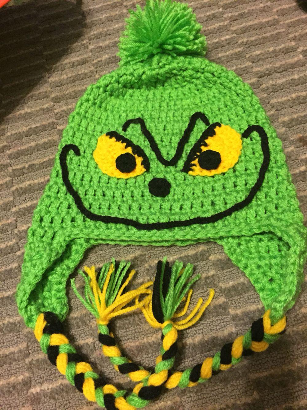 The Grinch crochet hat.  4593b07beebb