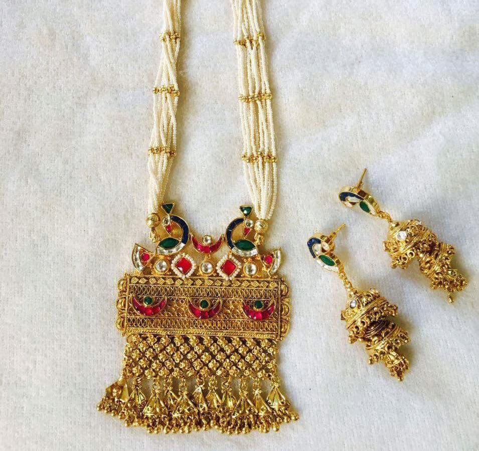 Pin by Dhara Gaudani on Gold | Pinterest | Indian jewelry, Jewel ...