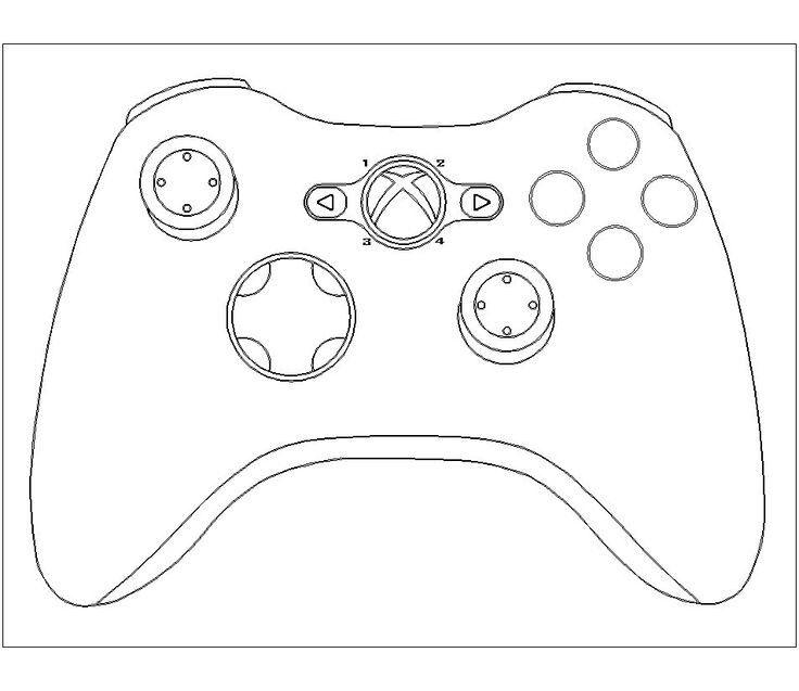 Xbox Controller Xbox Cake Cake Templates Playstation Cake
