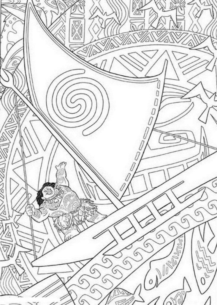 Fantastic Moana Coloring Pages 101 Coloring Moana Coloring Pages Moana Coloring Cartoon Coloring Pages