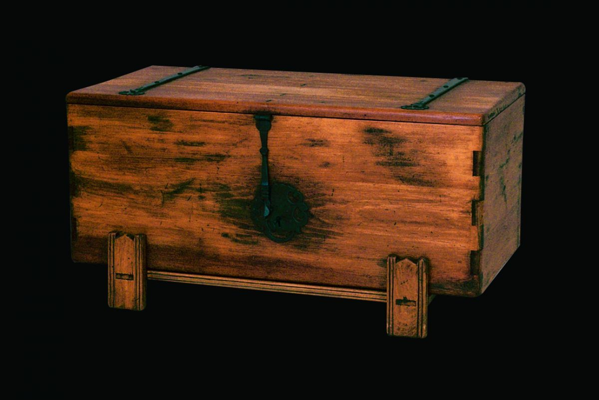 New Mexico Colonial Chest: Southwest Furniture, Santa Fe Style .