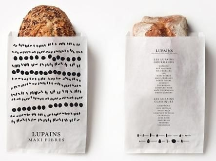 Lupains Bakery Bread Packaging Designed by Les Bons Faiseurs