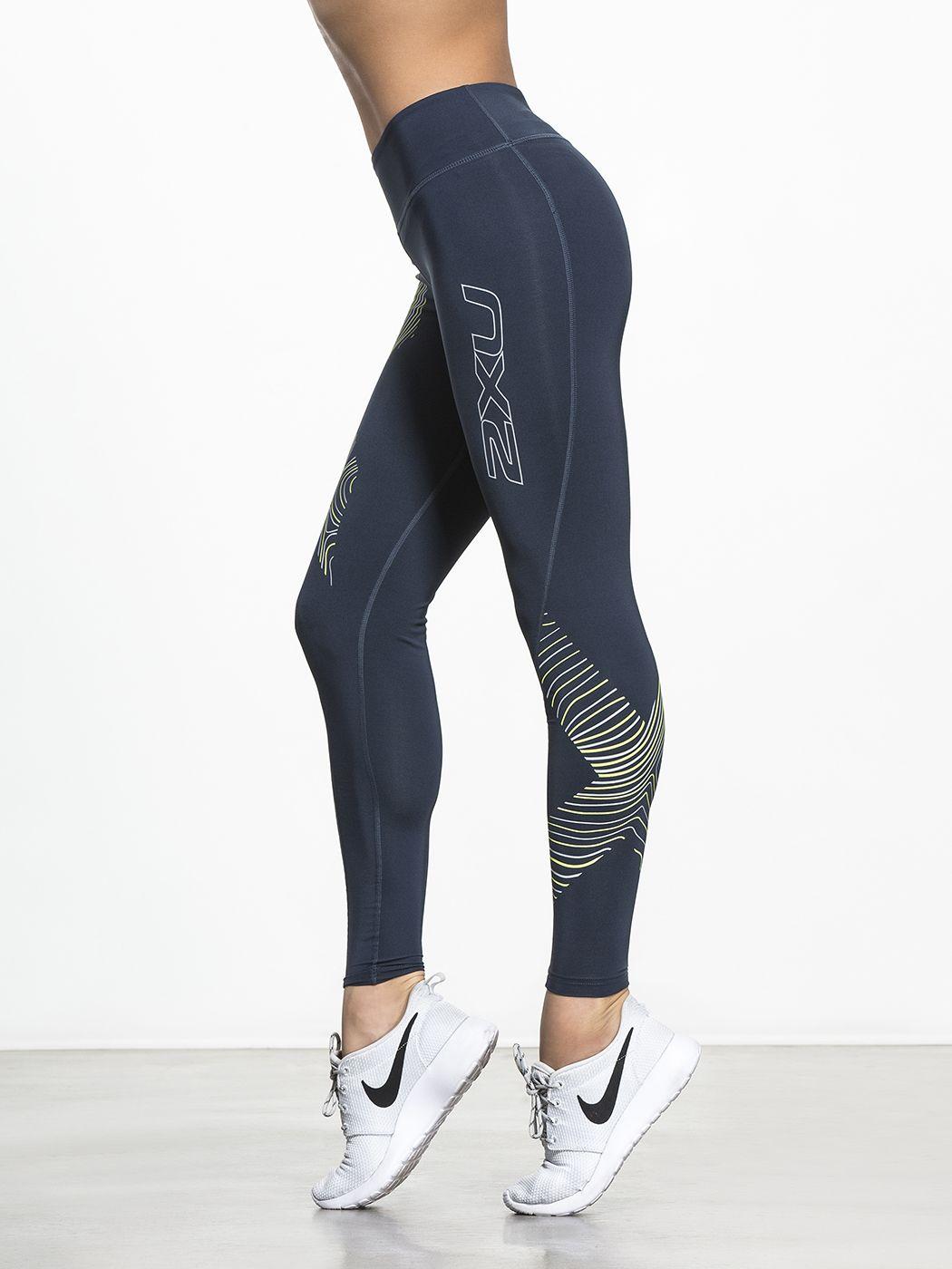 e38e4c2a7f Hyoptik Mid Rise Compression | 2XU Compression | Girls in leggings ...
