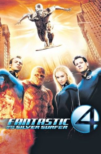 Fantastic Four Rise Of The Silver Surfer Movie Poster 11 X 17 Silver Surfer Movie Silver Surfer Fantastic 4 Movie