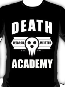 Death Weapon Meister Academy (White) T-Shirt