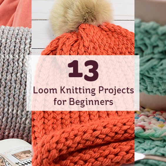 13 Loom Knitting Projects for Beginners in 2020 | Loom ...