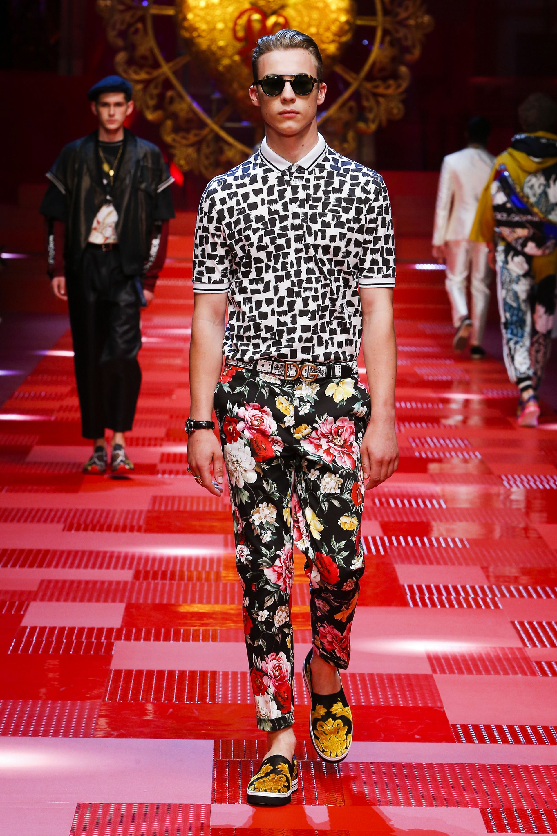 Coiffure Summer 2018 Dolce Andgabbana Spring Summer 2018 Men 39s Fashion Show
